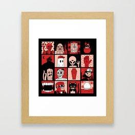 DEAD AF Framed Art Print
