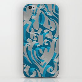 3D Abstract Ornamental Background II iPhone Skin