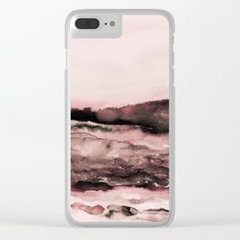 layers of colour 2 - autumn edit Clear iPhone Case