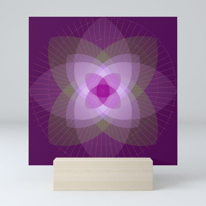 Lotus flower Mini Art Print