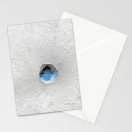 Volcano on Mars Stationery Cards
