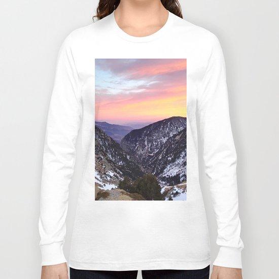fantastic mountains Long Sleeve T-shirt