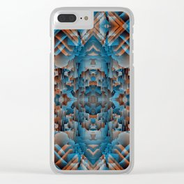 Imminent Collapse Clear iPhone Case
