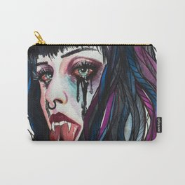 Snake Girl Carry-All Pouch