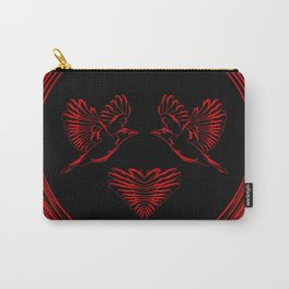 Love birds for the heart and soul. Carry-All Pouch