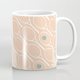 Pink Tennis Coffee Mug