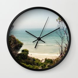Vintage Beach Wall Clock