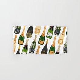 Champagne Bottles Hand & Bath Towel