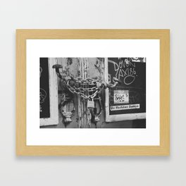 The Chain and The Door Framed Art Print