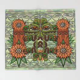 Forest Power Throw Blanket