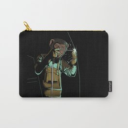 Welder Funny Mongkey Happy Carry-All Pouch