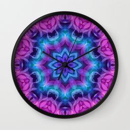 Floral Abstract G269 Wall Clock
