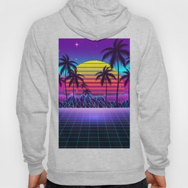 Radiant Sunset Synthwave Hoody