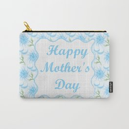 Mother's day. Mom! I love you! beautiful flowers, macaroons Carry-All Pouch