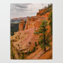 Beautiful Agua Canyon Landscape at Bryce Canyon National Park Poster