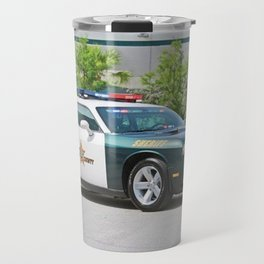 Broward Country Florida Challenger Police Highway Patrol Travel Mug
