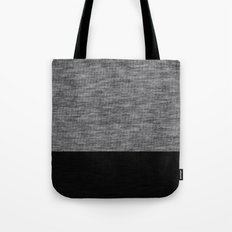 Athletic Grey and Black Tote Bag