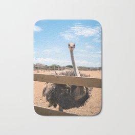 Ostrich pt 1 - All Eyes on You Bath Mat