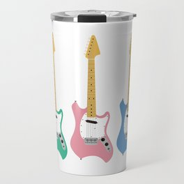 Strumming the guitar! Travel Mug