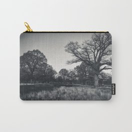 Nature Half Circle Carry-All Pouch