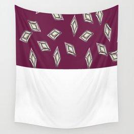 Rhombus jewel Wall Tapestry