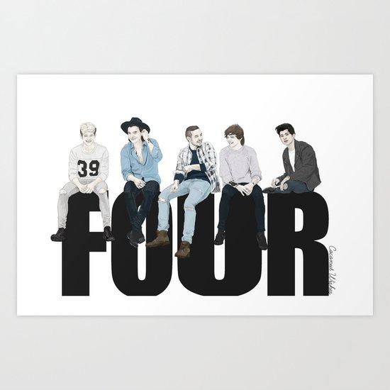 Four Art Print