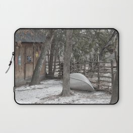 Cold Winters Day Laptop Sleeve