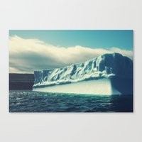 labrador Canvas Prints featuring Labrador Iceberg by Shaun Lowe