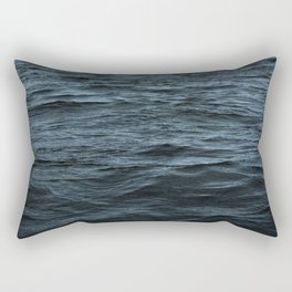 Dark Ocean Surface Rectangular Pillow
