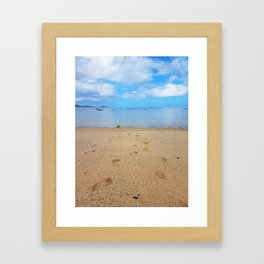 Lead Me to the Water Framed Art Print