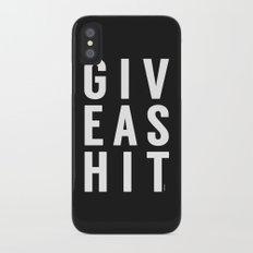 It's that simple Slim Case iPhone X