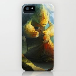 Mountain Birth iPhone Case
