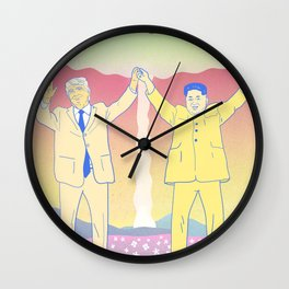 Put up your nukes Wall Clock