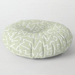 Scrambled Runes III Floor Pillow
