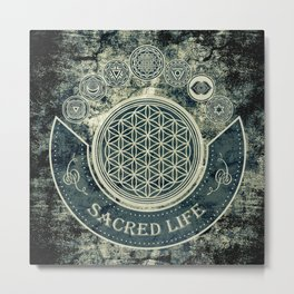 Sacred Geometry for your daily Life Metal Print
