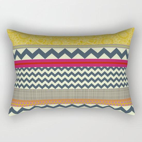 New York Beauty stripe Rectangular Pillow