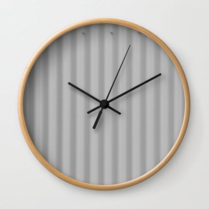 Metal simplicity Wall Clock