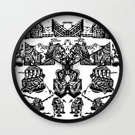 MAISONS Wall Clock