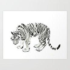 Paper Tiger Art Print