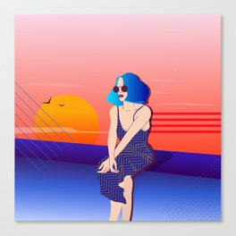 Looking for summer Canvas Print