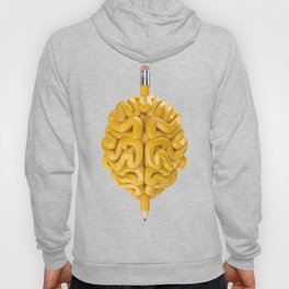 Pencil Brain Hoody