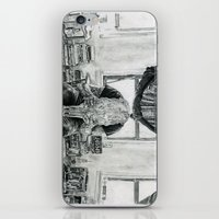 inner demons iPhone & iPod Skins featuring Inner Demons by Art & Ink