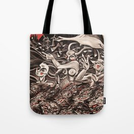 To Enter and Exit through the Memory of the Living Tote Bag
