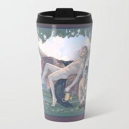 Dionysus and Satyr Travel Mug
