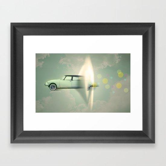 supersonic citroen Framed Art Print