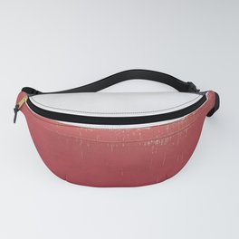 Black White Red 01 Fanny Pack