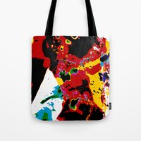 bokeh Tote Bags featuring Bokeh by Stephen Linhart