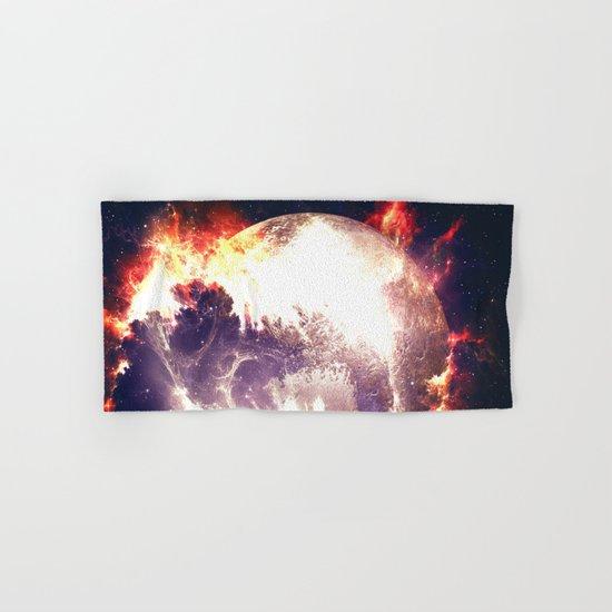 Burning Planet Hand & Bath Towel
