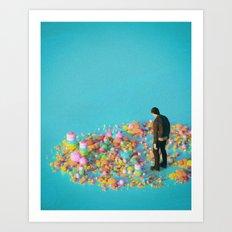NEVER ENOUGH (everyday 03.16.17) Art Print