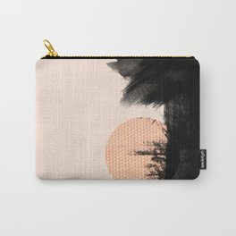 Pink-black Carry-All Pouch
